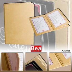 Cartas para restaurantes personalizadas AWEM 35