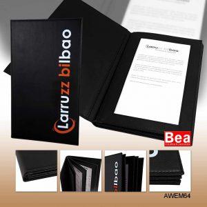 Portamenus para Restaurante Personalizado Larruzz Bilbao
